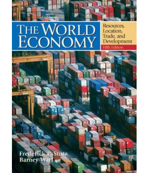 The World Economy: Resources, Location, Trade and Development (5th Edition)      (Hardcover)
