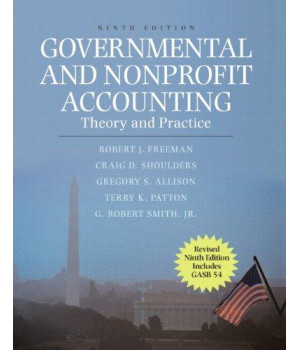 Governmental and Nonprofit Accounting: Theory and Practice, Update (9th Edition)      (Hardcover)