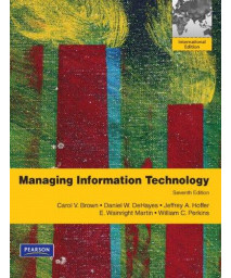 Managing Information Technology      (Paperback)