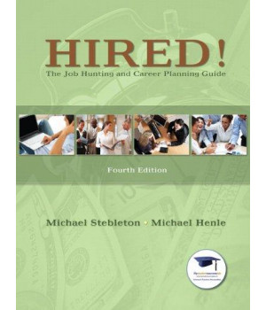 Hired! The Job Hunting and Career Planning Guide (4th Edition)      (Paperback)
