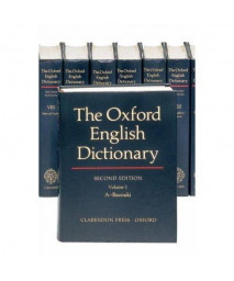 The Oxford English Dictionary (20 Volume Set) (Vols 1-20)
