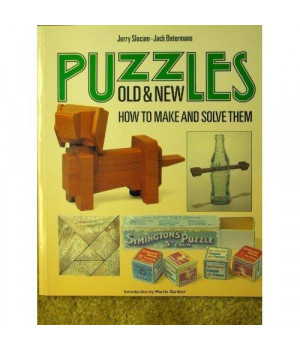 Puzzles Old and New: How to Make and Solve Them