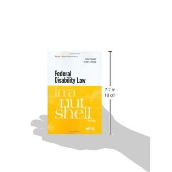 Federal Disability Law in a Nutshell, 4th (In a Nutshell (West Publishing)) (Nutshell Series)