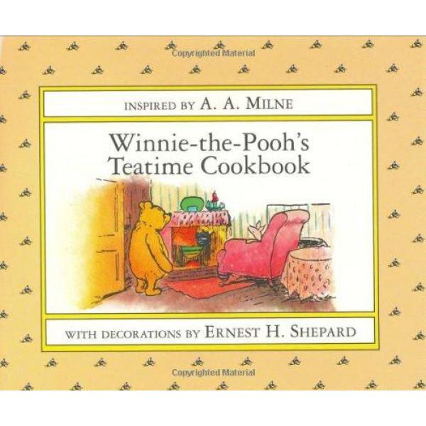 buy winniethepooh's teatime cookbook hardcover online