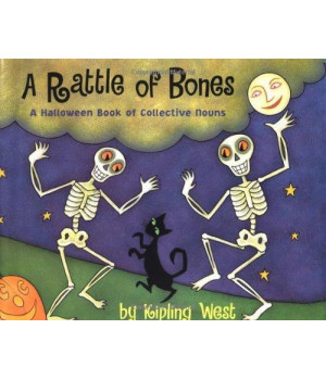 A Rattle of Bones: A Halloween Book of Collective Nouns      (Hardcover)