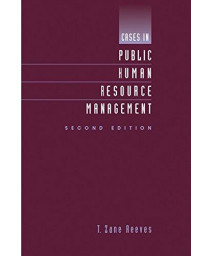 Cases in Public Human Resource Management      (Paperback)