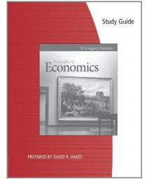 Study Guide for Mankiw's Principles of Economics, 6th      (Paperback)