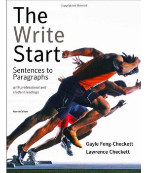 The Write Start: Sentences to Paragraphs with Professional and Student Readings (Available Titles CengageNOW)      (Paperback)