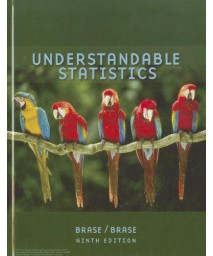 Brase Understandable Statistics Advanced Placement Edition Ninth Edition      (Hardcover)