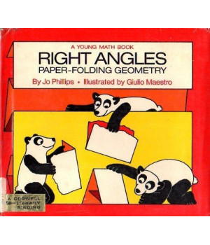 Right angles; paper-folding geometry, (Young math books)      (Hardcover)