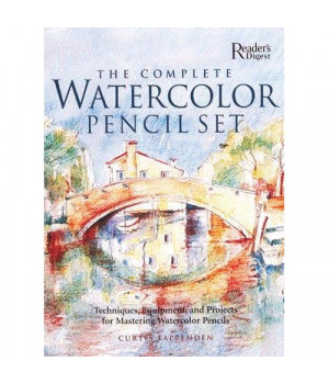 Complete Watercolor Pencil Set Techniques, Step-by-Step Projects, Materials