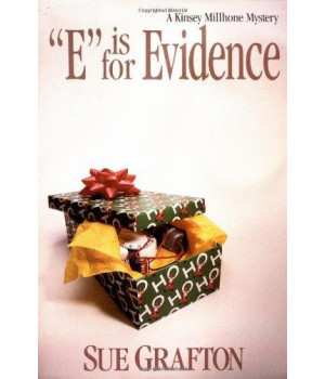 """""""E"""" is for Evidence: A Kinsey Millhone Mystery      (Hardcover)"""