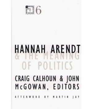 Hannah Arendt and the Meaning of Politics (Contradictions of Modernity)