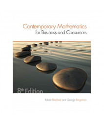 Contemporary Mathematics for Business & Consumers