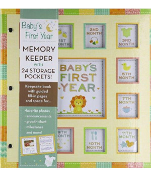 Baby's First Year Gender Neutral Pocketful of Memories      (Spiral-bound)