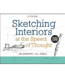 Sketching Interiors at the Speed of Thought: Bundle Book + Studio Access Card