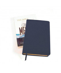 The Message: The Bible (Navy Bonded Leather)