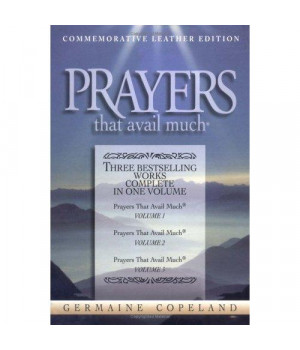 Prayers That Avail Much:  Commemorative Leather Edition, Navy