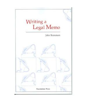 Writing a Legal Memo (Coursebook)