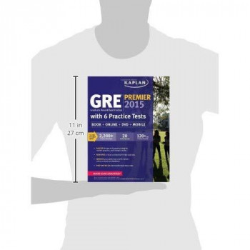 GRE Premier 2015 with 6 Practice Tests: Book + DVD + Online + Mobile (Kaplan Test Prep)