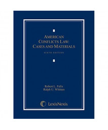 American Conflicts Law: Cases and Materials, 2015