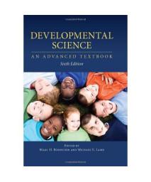 Developmental Science: An Advanced Textbook, Sixth Edition