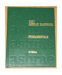 ASHRAE Handbook Fundamentals, 1997 (IP)