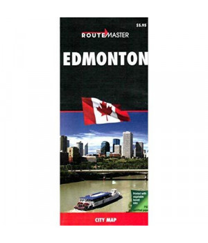 Edmonton, AB Map by Route Master 1:31K