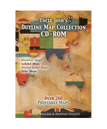 Uncle Josh's Outline Map Book CD-Rom