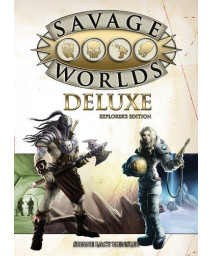 Savage Worlds Deluxe: Explorer's Edition (S2P10016)      (Perfect Paperback)