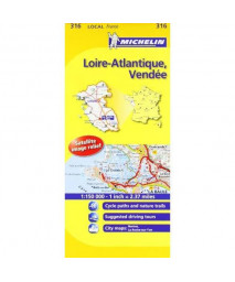 Loire-Atlantique, Vendee (Maps/Local (Michelin)) (English and French Edition)