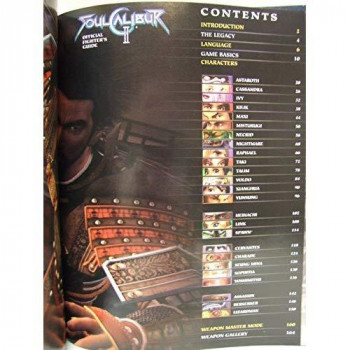 Soul Calibur II Official Fighters Guide Limited Edition