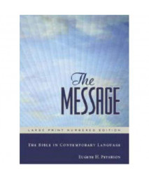 The Message Bible [International Paperback]
