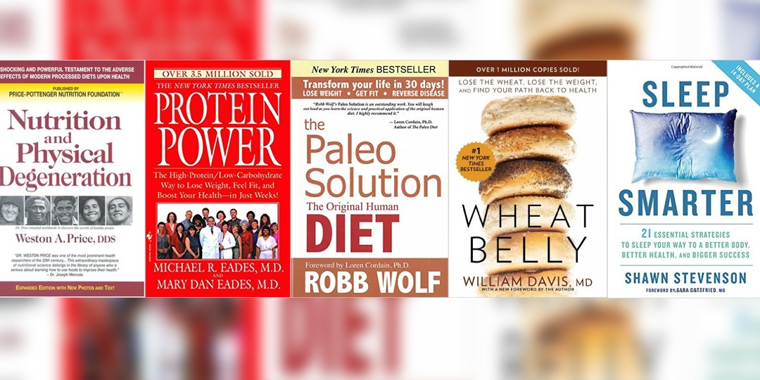 Health & Diet Books: Motivate yourself into being healthy!